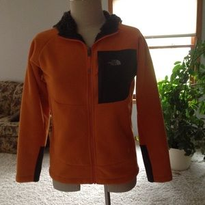 North Face Boys hooded jacket